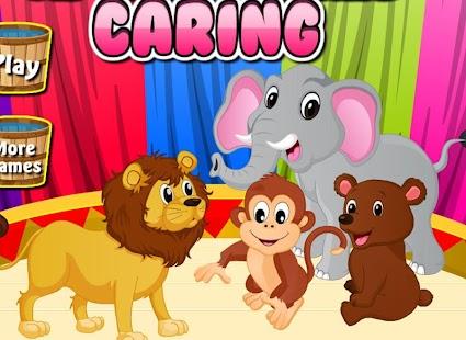 玩家庭片App|馬戲團的動物 - 愛心遊戲免費|APP試玩
