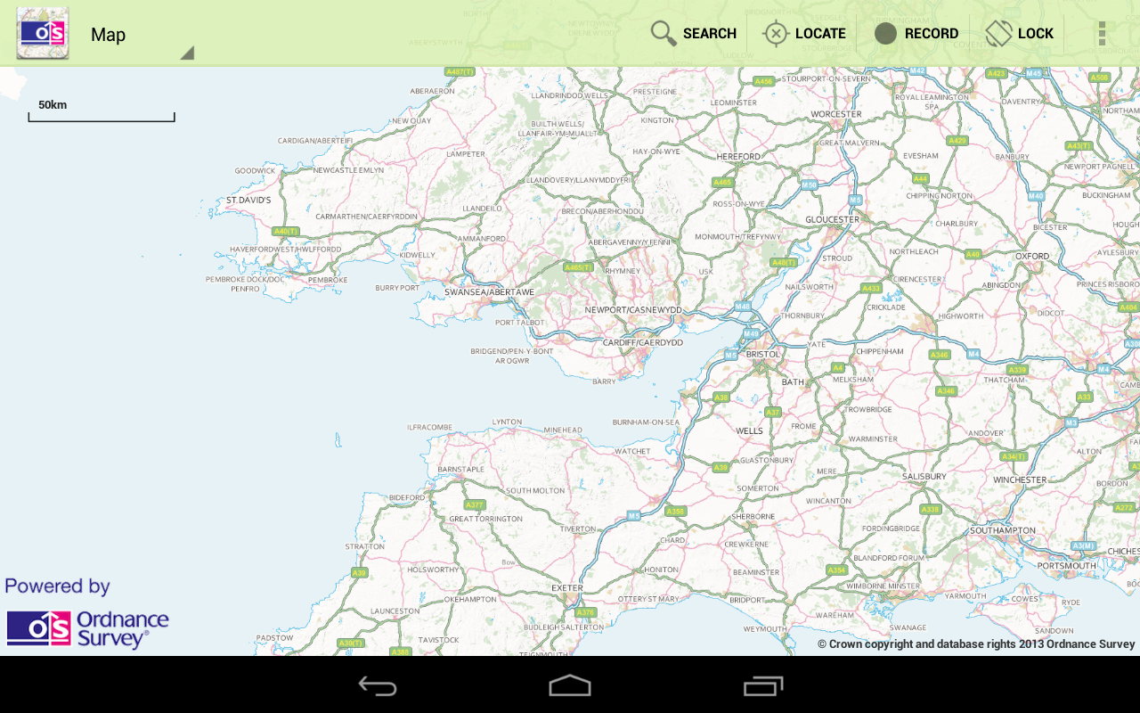OS MapFinder - screenshot