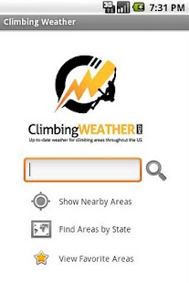 Climbing Weather- screenshot thumbnail