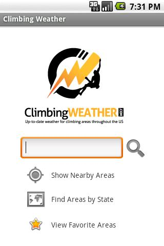 Climbing Weather- screenshot
