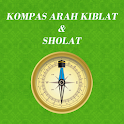 Kompas Arah Kiblat & Sholat icon