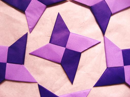 如何使紙忍者明星