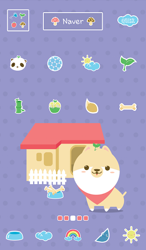 happy animal dodol theme
