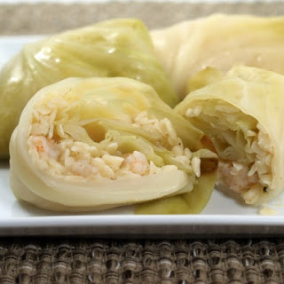 Seafood Cabbage Rolls