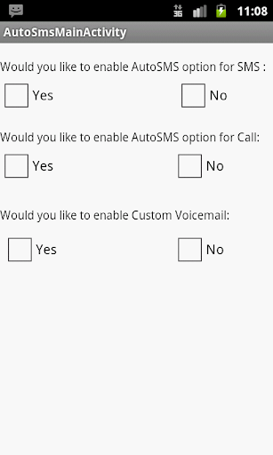 AutoSMS VOICEReply