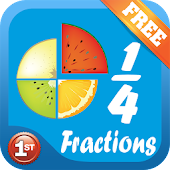 Fraction for 1st grade(Free)