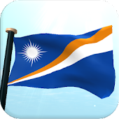 Marshall Islands Flag 3D Free