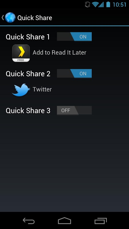 Quick ICS Browser (Donate) - screenshot
