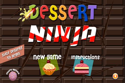 Dessert Ninja - Cake Warrior