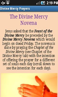Divine Mercy Prayers- screenshot thumbnail