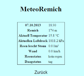 Meteo Remich- screenshot thumbnail