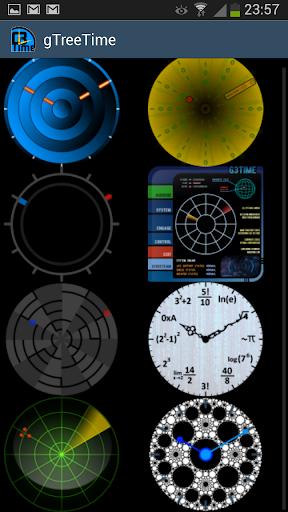 g3time - set 3 - clock widget