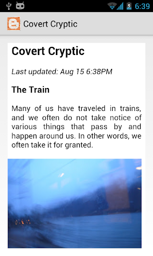 Covert Cryptic