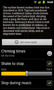玩個人化App|Hunter Cuckoo for Chime Time免費|APP試玩