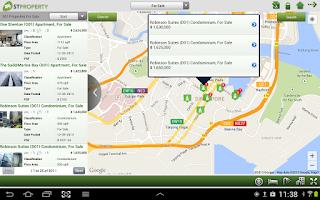 Screenshot of STProperty HD
