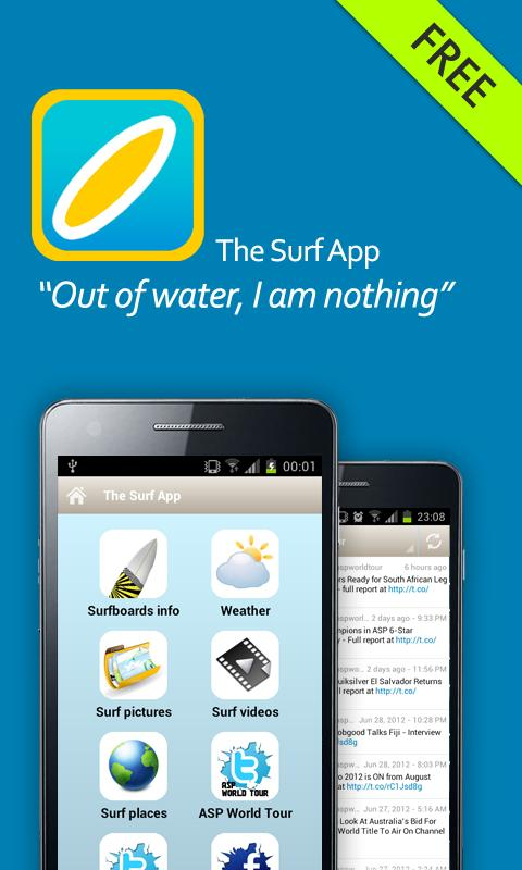 The Surf App- screenshot