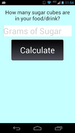 Sugar Cube Calculator