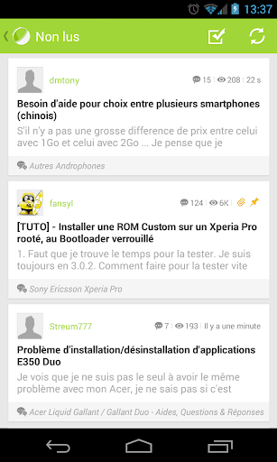 Forum FrAndroid beta