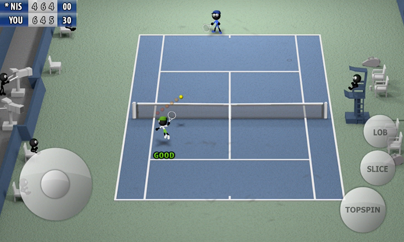Stickman Tennis 2015- screenshot