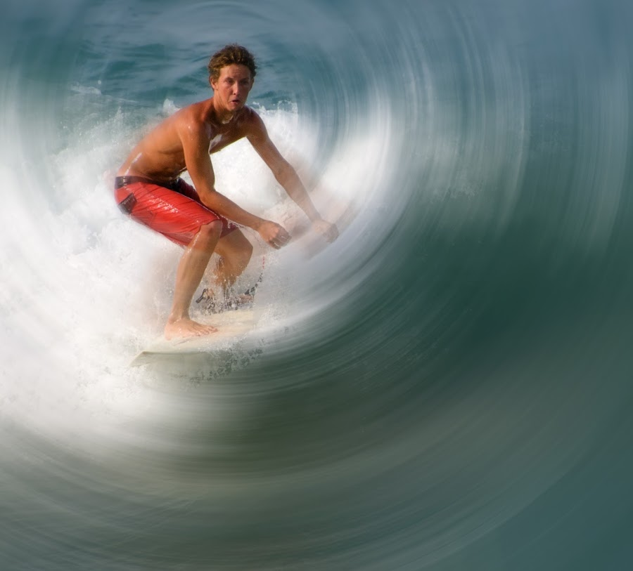 by Courtland Roberts - Sports & Fitness Surfing ( surfing, florida )