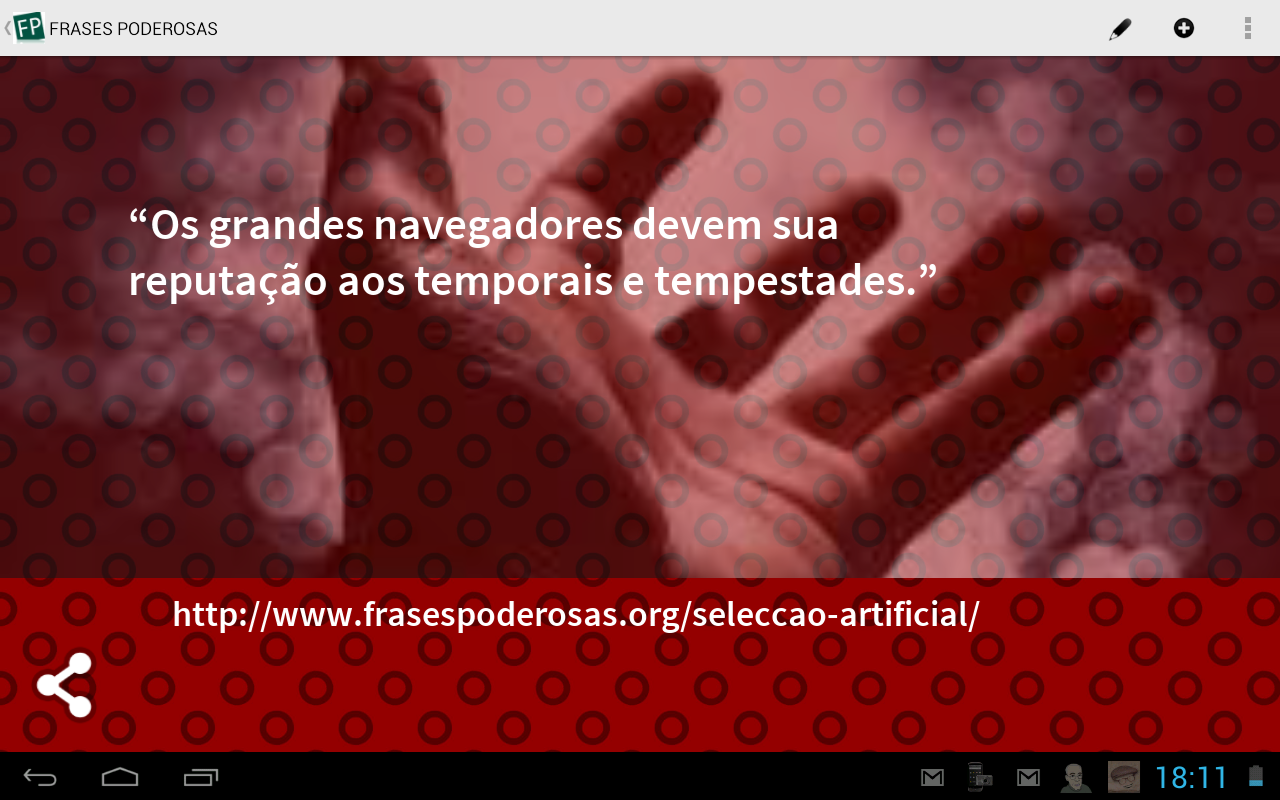 Powerful Phrases in Portuguese - screenshot