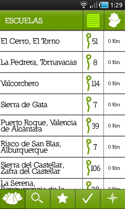Escaladapp Extremadura- screenshot