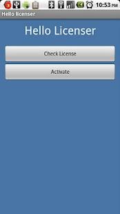 Hello Licenser- screenshot thumbnail