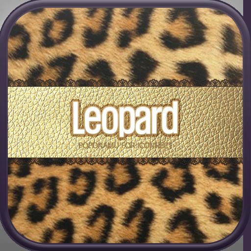 Gold Leopard go launcher theme