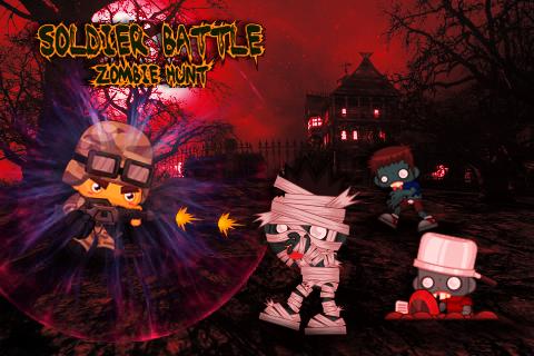 Soldier Battle: Zombie Hunt