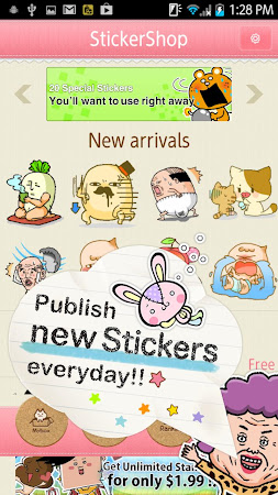 Sticker Shop for LINE Facebook 1.1.0 screenshot 1331492