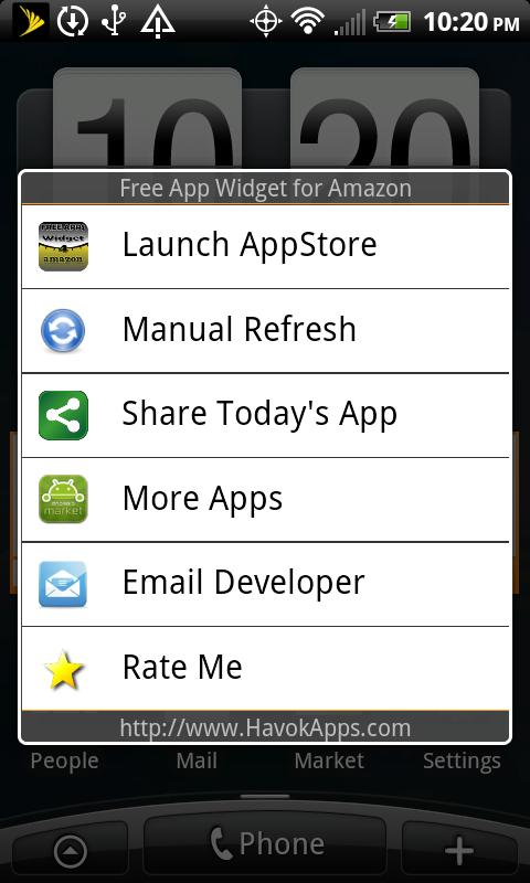 Free App Widget for Amazon - screenshot