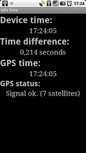 GPS Time - screenshot thumbnail