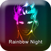 Rainbow Go LauncherEX Theme