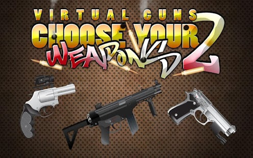 FREE Virtual Gun 2 Weapon App- screenshot thumbnail