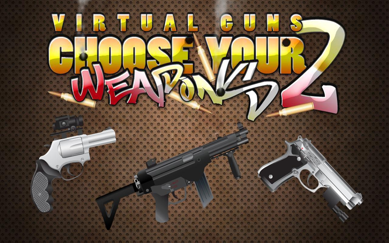 FREE Virtual Gun 2 Weapon App- screenshot