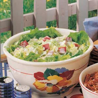 Apple Iceberg Salad.