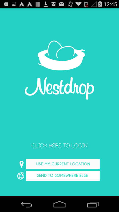Nestdrop- screenshot