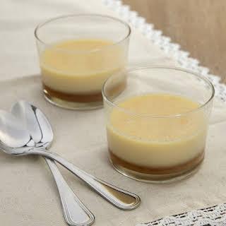 Salted Caramel Panna Cotta.
