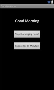 Sunrise Alarm screenshot
