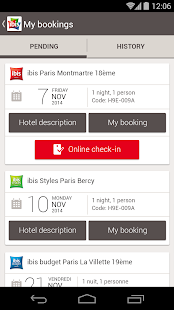 ibis hotel booking- screenshot thumbnail