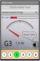 Screenshot of Full Guitar Tuner