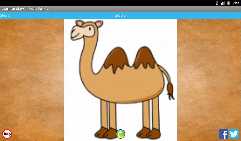 Learn to draw animals for Kids- screenshot