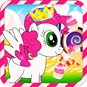 Little Pony Candy Land HD Full