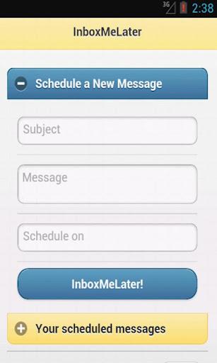 玩生產應用App|Inbox Me Later!免費|APP試玩