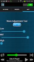 Screenshot of MAX-D HD Audio Player
