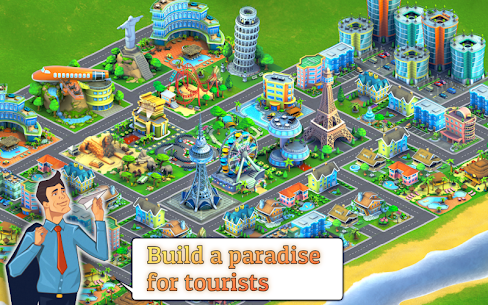 City Island: Airport ™ 2.5.0 MOD (Unlimited Money/Gems) 1