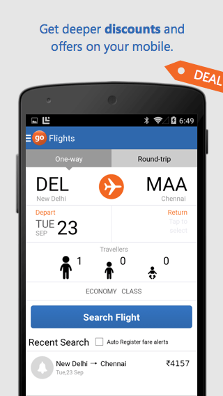 Goibibo - Hotel Flight Booking - screenshot