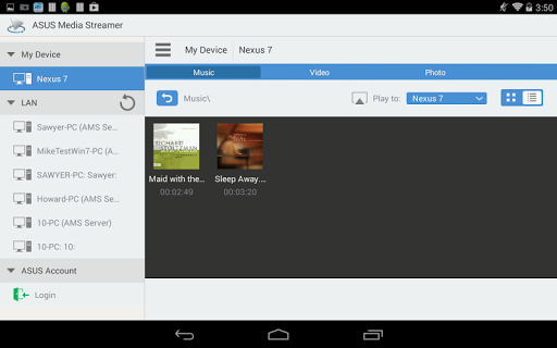 【免費娛樂App】ASUS Media Streamer-APP點子