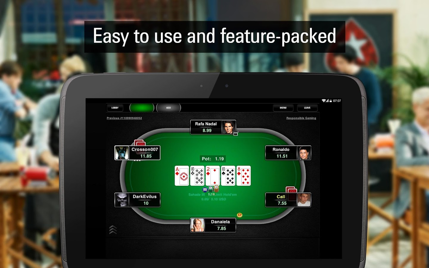 PokerStars Poker: Texas Holdem - screenshot