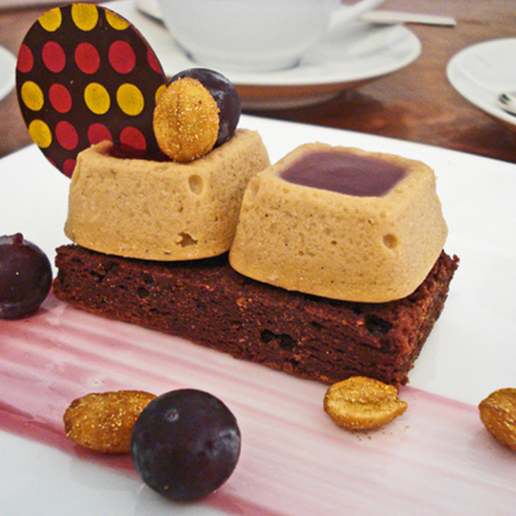 Peanut Butter Cheesecake with Grape Jelly Glaze Recipe